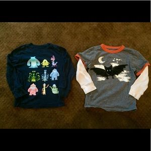 Boys Size 5 and 5T long sleeve shirt lot